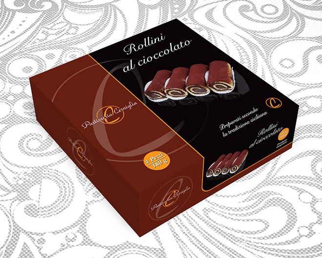 Rollini al cioccolato